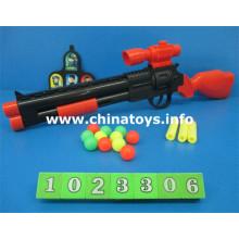 Novos brinquedos de plástico arma de airsoft de ping pong eva arma (1023306)