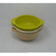 (BC-B1036) High Quality Eco Bamboo Fiber Tableware Baby Bowl