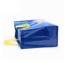 La bolsa de asas plegable tejida pp de la comida animal de la cremallera