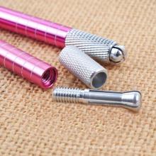 Pena Manual de Microblade com caneta de sobrancelha com tatuagem 3D