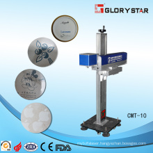 Fiber Laser Marking Machine Online Specially Designed for Pipeline
