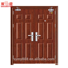 Hollow metal door gates used fire exit door