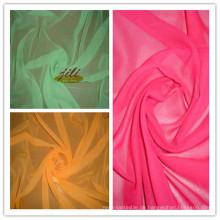 100% Polyester 60er Jahre gefärbte Voile Stoff für Schal