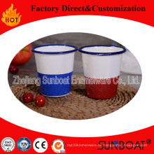 Sunboat Emaille Becher / Porzellan Porzellan Cup / Emailware für Trinken