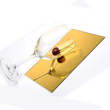 Wholesale price customized mirrored acrylic gold silver acrylic mirror sheet