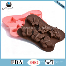 Hot Sale Butterfly Cake Tool Silicone Chocolat Substrat Si24