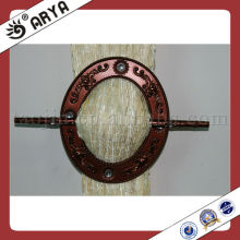 Brown Resin Curtain Ring Hook.Buckle, Cortina Clip para cortina Decoração e cortina de aperto