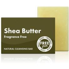 Factory Custom Natural Handmade Shea Butter Facial Cleansing Bar Soap