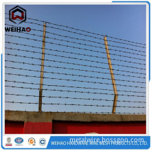 Hot Sale Barbed Wire Length Per Roll / barbed Wire Fence