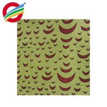 популярный дизайн африканский воск печатает ткань продажа