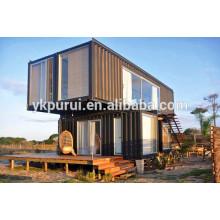 Casa de contenedor de dos pisos profesional / tienda de contenedores
