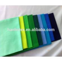 65% poliéster 35% algodão 45s poplin shirting bolso forro tecido T / C liso