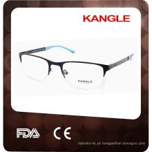 Blue Color Plating Metal Glasses Optical Frame
