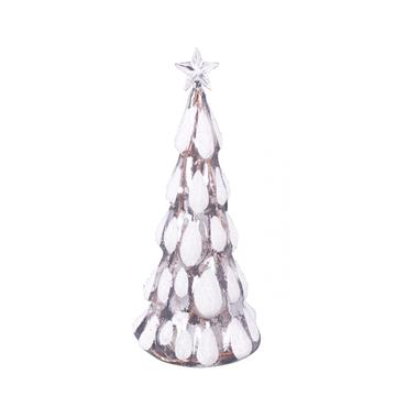 Xmas LED Glass Tree with Star