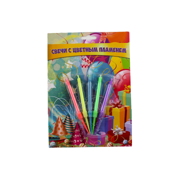 Kek Hari Lahir Spiral Magic Magic Flames Lilin