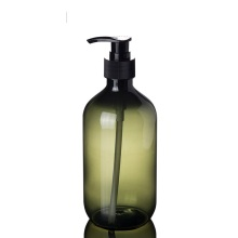 500ml and 300ml PET thicken plastic shampoo bottles
