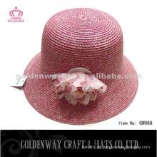 Mode Rot Cloche Hüte GW068