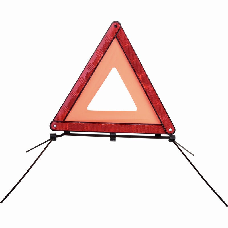 folding warning triangle