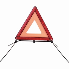 road traffic reflective car folding warning triangle