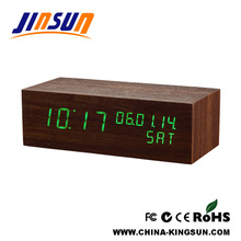 Decorative Calendar Led Clock