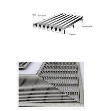 Panel de alambre de cuña / placa de metal recubierta de alambre