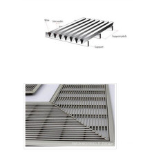 Panneau de cale de cale / plaque de sceen enveloppée de fil