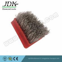 Jdk Frankfur Type Acier Antique Brush Abrasive for Marble