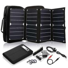 2017 Hot Selling High Efficiency 26W sunpower mini panneau solaire portable