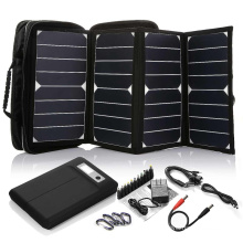 2017 Hot Selling High Efficiency 26W sunpower mini portable solar panel