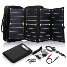 2017 Hot Selling High Efficiency 26W sunpower mini painel solar portátil