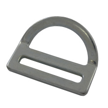 "227 en acier galvanisé 2 ""Single Slot Bent D-ring"