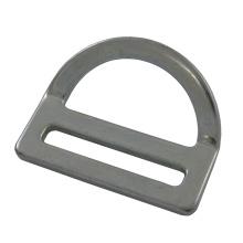 """227 Aço Galvanizado 2 """"Single Slot Bent D-ring"""