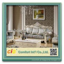 2018 novo padrão impressão reunindo flor design sofá tecido