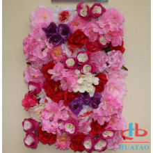Wedding decoration silk artificial flower wall