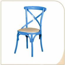 Atacado Boa qualidade Preço de Fábrica X Cadeira de Metal de Volta Cruz Cadeira de Volta