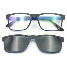 F151115 Nuevo diseño ultradelgado magnética gafas de sol y lector y vidrios ópticos