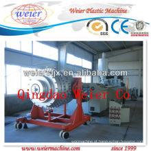 Máquina da tubulação do HDPE PP, máquina da extrusão, linha de produção com certificado do CE