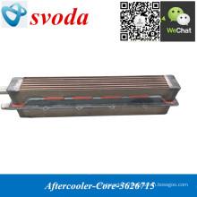 Core 3626715 de refroidisseur d'aftercooler chinois pour le moteur CUMMINS Kta38