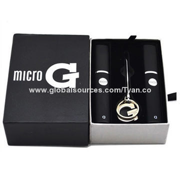 2014 hot selling dry herb electronic cigarette, micro g pen