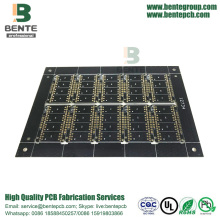 High reputation for PCB Circuit Board Prototype Black Ink PCB Prototype export to Japan Exporter