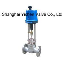 Válvula de control eléctrica de asiento único tipo globo (ZRHP)
