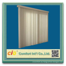 Protector solar de poliéster interior cortina tela Vertical ciego Fabrices
