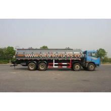 Heavy Duty Chemical Liquid Tank Truck Transport Gas / Diese