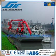 Shanghai fabricante knuckle boom marinho navio costa guindaste