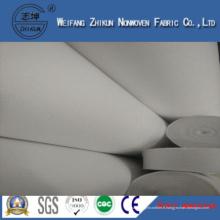 Tissu non-tissé Spunbond PP avec des sacs à main du marché (blanc PP)