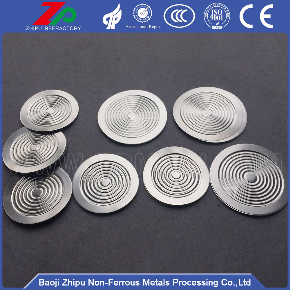 SS 316L ripple metal diaphragm