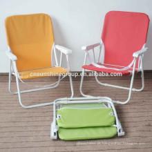Brasileira cadeira de dobradura, cadeira de praia dobrável