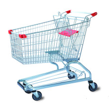 American Style Supermarket Holder Shopping Trolley Cart Manufacturer