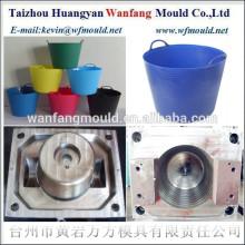 10L flexible plastic garden buckets injection mould&mould making