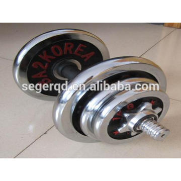 cast iron dumbbell plate